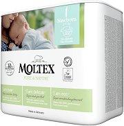 Moltex Pure & Nature 1 - Newborn - Еко пелени за еднократна употреба за бебета с тегло от 2 до 4 kg -
