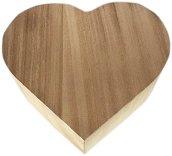Дървена кутия - Сърце