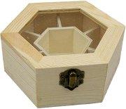 Дървена кутия със 7 разделения