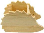Дървен моливник - Таралеж