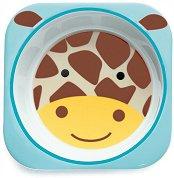 """Детска меламинова купичка - Жирафчето Джулс - За бебета над 6 месеца от серията """"Zoo"""" -"""