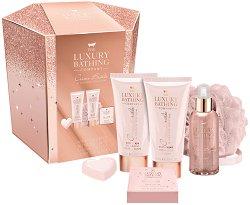 The Luxury Bathing Company Creme Brulee & Orange Blossom - Подаръчен комплект с козметика за тяло -