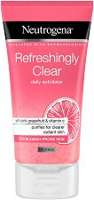 Neutrogena Refreshingly Clear Daily Exfoliator - Освежаващ ексфолиант за лице - крем