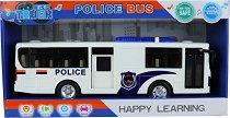 Полицейски автобус - играчка