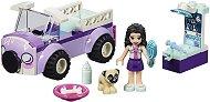 """Мобилната ветеринарна клиника на Ема - Детски конструктор от серията """"LEGO Friends"""" - играчка"""