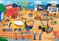 Строителна площадка - Детски пъзел - пъзел