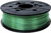 Полупрозрачен зелен консуматив за 3D принтер - PLA