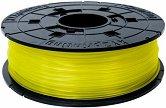 Полупрозрачен жълт консуматив за 3D принтер - PLA