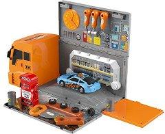 Автосервиз - камион - играчка