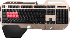 Полумеханична гейминг клавиатура с USB кабел - B2418