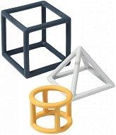 Силиконови дъвкалки - Геометрични фигури -