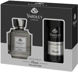 Yardley Gentleman Classic - Подаръчен комплект за мъже с парфюм и дезодорант -