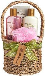 IDC Institute Natural Oil - Подаръчен комплект с козметика за тяло - продукт