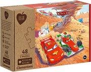 """Колите - Комплект от 3 пъзела от колекцията """"Clementoni: Play for Future"""" - пъзел"""