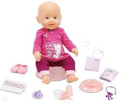 Пишкаща и плачеща кукла бебе - кукла