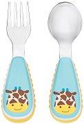 Детски прибори за хранене - Жирафчето Джулс -