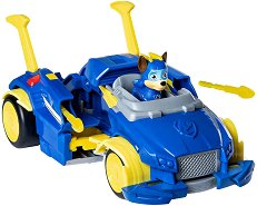 """Суперавтомобилът на Чейс - Детски комплект за игра от серията """"Пес патрул"""" - топка"""
