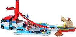 """Камион Пес Патрулер - Детски комплект за игра и аксесоари от серията """"Пес патрул"""" - играчка"""