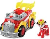 """Пожарникарският камион на Маршъл - Играчка със светлинни и звукови ефекти от серията """"Пес патрул"""" - играчка"""