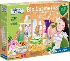 """Лаборатория за натурална козметика - Образователен комплект от серията """"Clementoni: Science"""" -"""