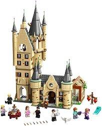 """Астрономическата кула на Хогуортс - Детски конструктор от серията """"LEGO: Хари Потър"""" - играчка"""