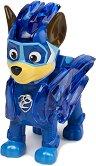 """Чейс в суперкостюм - Детска играчка със светлинни ефекти от серията """"Пес патрул"""" - фигура"""