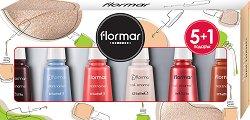 Подаръчен комплект с лакове за нокти - Flormar - Опаковка от 6 броя - продукт