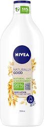Nivea Naturally Good Natural Oat & Nourishment Body Lotion - лосион