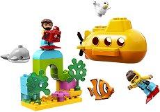 """Подводни приключения - Детски конструктор от серията """"LEGO Duplo"""" -"""