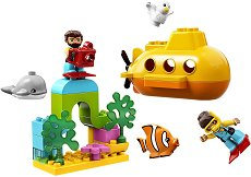 """Подводни приключения - Детски конструктор от серията """"LEGO Duplo"""" - продукт"""