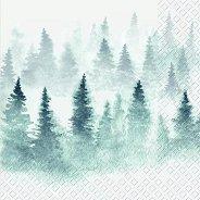 Салфетки за декупаж - Снежна зима - Пакет от 20 броя
