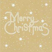 Салфетки за декупаж - Merry Christmas