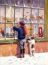Рисуване по номера с акрилни бои - Коледно желание