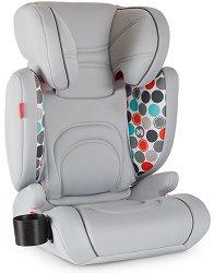 "Детско столче за кола - Bodyguard Pro: Fisher Price Grey - За ""Isofix"" система и деца от 15 до 36 kg -"