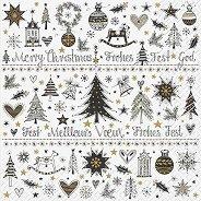 Салфетки за декупаж - Коледни украшения