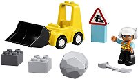 """Булдозер - Детски конструктор от серията """"LEGO Duplo"""" -"""