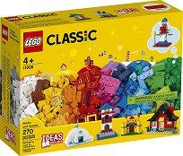 """Детски конструктор - Тухли и къщи - От серията """"LEGO Classic"""" -"""