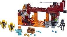 """Светещият мост - Детски конструктор от серията """"LEGO Minecraft"""" -"""