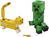 """Крипер и оцелот - Детски конструктор от серията """"LEGO Minecraft"""" -"""