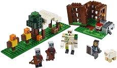 """Скривалището на грабителите - Детски конструктор от серията """"LEGO Minecraft"""" -"""