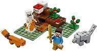 """Приключение в тайгата - Детски конструктор от серията """"LEGO Minecraft"""" -"""