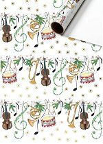 Едностранен опаковъчен лист - Музика