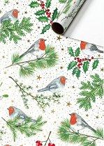 Едностранен опаковъчен лист - Robin - Хартия с размери 70 x 200 cm