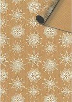 Едностранен опаковъчен лист - Снежинки