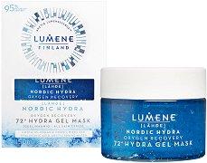 Lumene Lahde Nordic Hydra Oxygen Recovery 72h Hydra Gel Mask - продукт