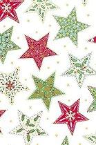 Едностранен опаковъчен лист - Звезди - Хартия с размери 70 x 200 cm