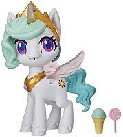 """Магически еднорог Селестия - Magical Kiss Unicorn - Детска играчка със звукови и светлинни ефекти :  от серията """"My Little Pony"""" - играчка"""