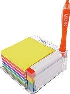 Самозалепващи листчета и индекси - Комплект от 780 броя в прозрачна поставка