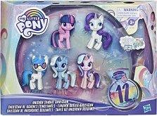 Малкото пони - Комплект от 5 фигурки с аксесоари - играчка