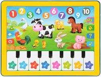 Образователен таблет - Музикално пиано - Интерактивна играчка на български език -